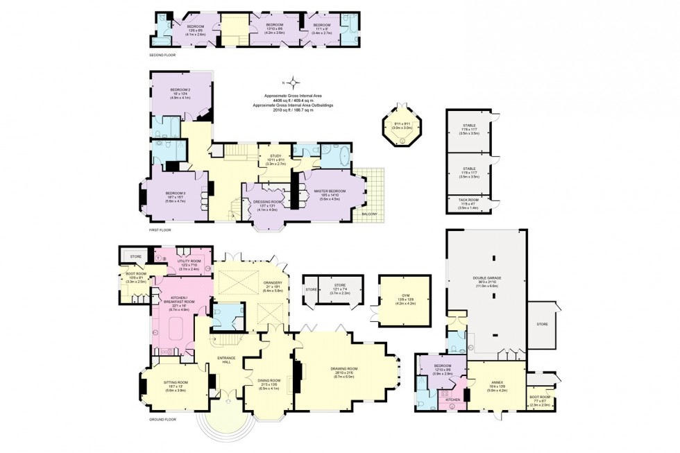 Floorplan for River Road, Taplow, Buckinghamshire
